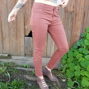 Cotton On | terracotta mid rise jegging